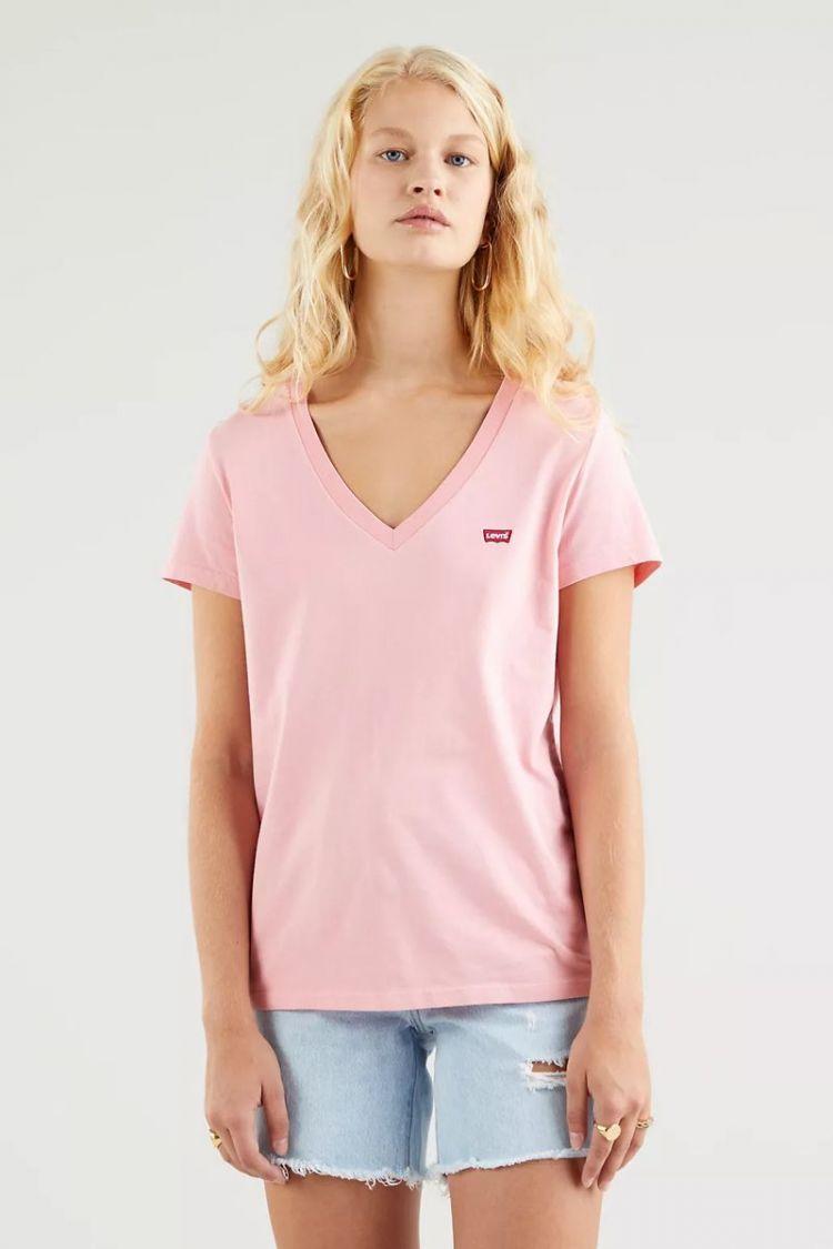 T-Shirt rosa Levi's