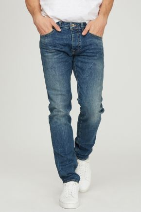 Jeans regular elasticizzati 'Mitch' uomo Denim Gas Jeans