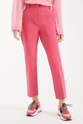 Pantaloni in tela di viscosa donna Rosa Weekend