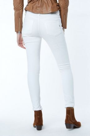 Jeans Star donna Bianco Gas Jeans