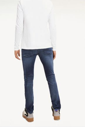 Jeans Scanton dynamic stretch slim fit uomo Blu Tommy Hilfiger Jeans