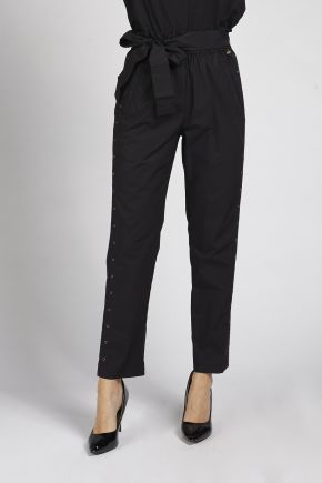 Pantalone donna Nero Twin-set