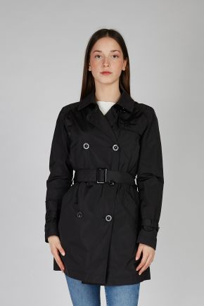 Trench donna Nero Canadiens
