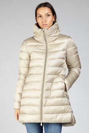 Cappotto Donna Beige Save The Duck