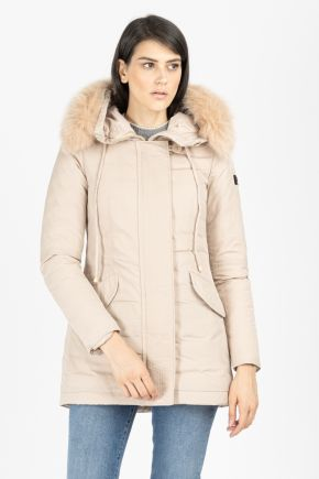 Giaccone Donna Beige Peuterey
