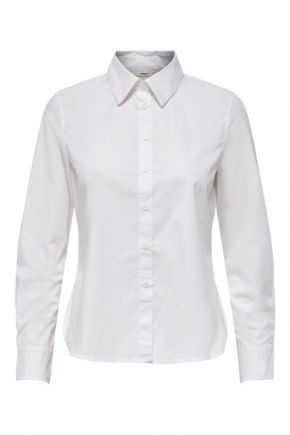 Camicia slim donna Bianco Only