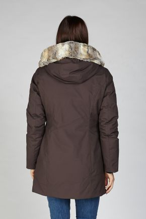 Giaccone Donna Marrone Cape Horn