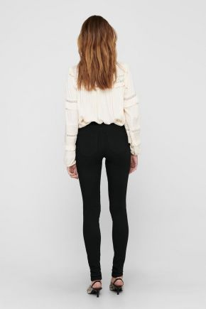 Jeans skinny fit donna Nero Only