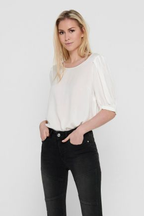 Top loose fit donna Bianco Only