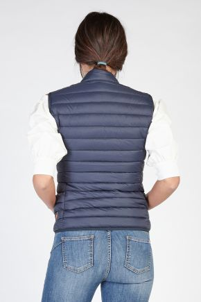 Gilet donna Blu Save The Duck