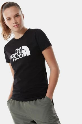 T-shirt easy donna Nero The North Face