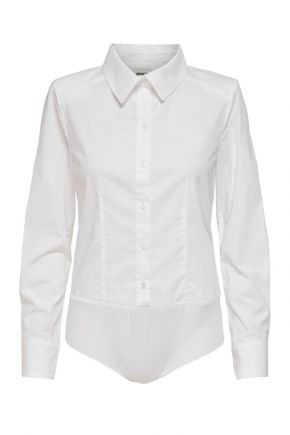 Body a maniche lunghe Donna Bianco Only