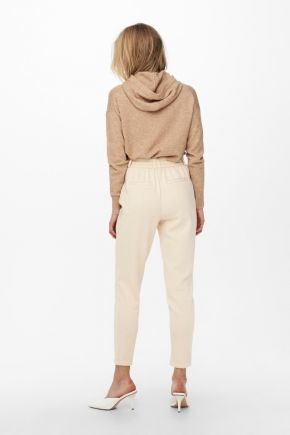 Pantaloni loose fitted L30 Donna Beige Only