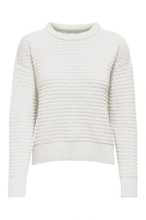 Pullover in maglia Donna Bianco Only