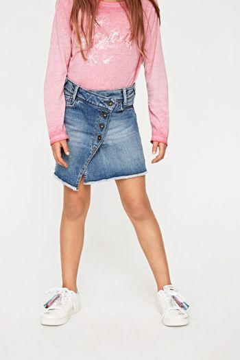 GONNA JEANS ALICE FRINGED Denim Pepe Jeans