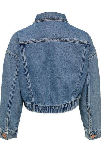 Giacca corta in jeans bambina Denim Only