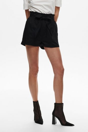 Shorts paperbag Donna Nero Only