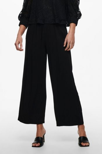 Pantalone wide fit donna Nero Only