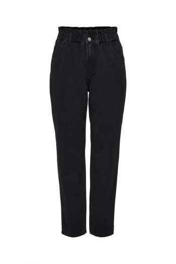 Jeans carrot donna Nero Only