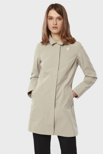 Giubbetto Donna Beige K-way