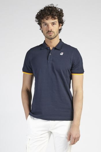 Polo maniche corte Uomo Blu K-way