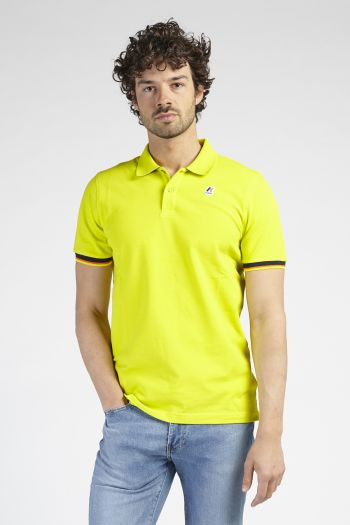 Polo maniche corte Uomo Giallo K-way