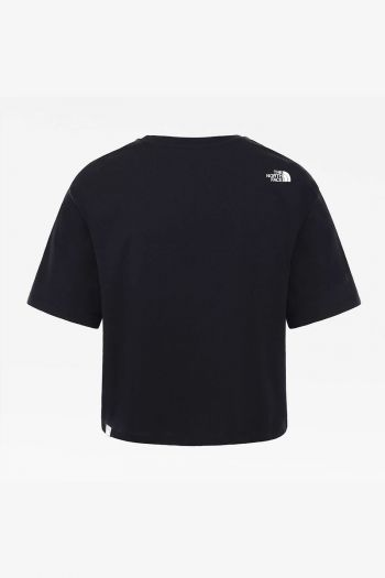 T-shirt Crop donna Nero The North Face