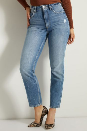 Jeans mom fit Donna Denim Guess