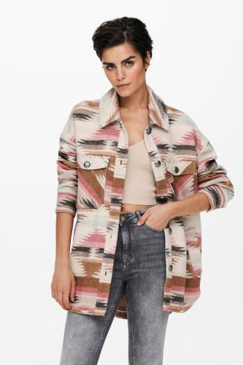 Giacca a pattern Donna Fantasia Only