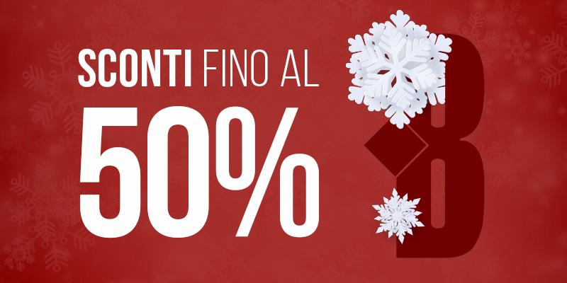 Winter sales | Sconti fino al 50%