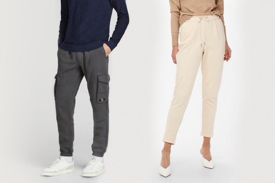 pantaloni only e jack e jones