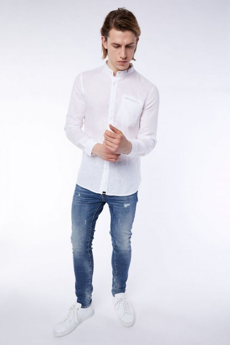 camicia lino uomo gas