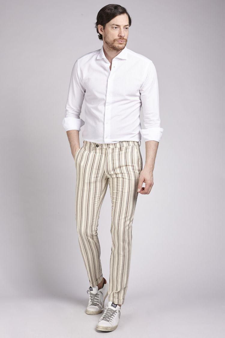 pantaloni lino uomo michael coal
